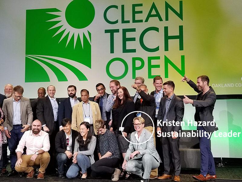 Winners of the Cleantech Open Regional Awards in October 2018
